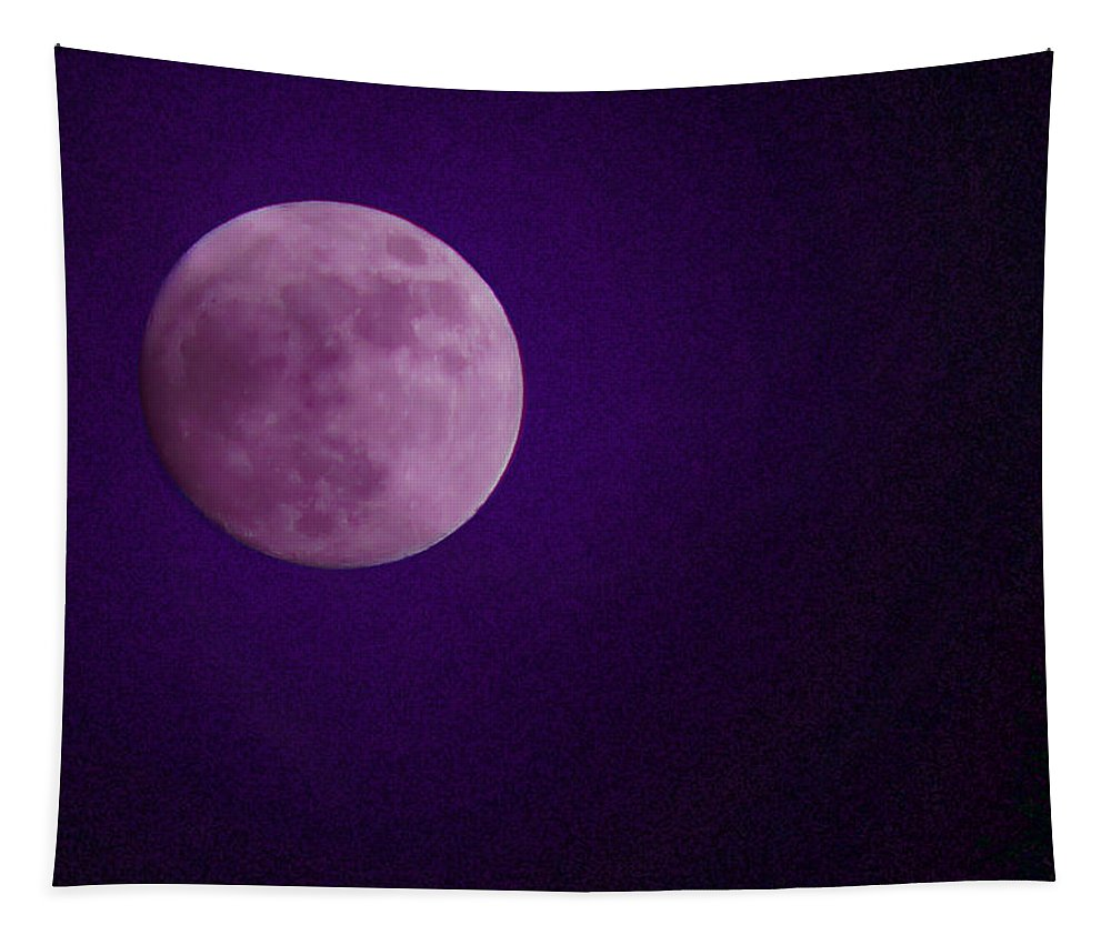 Special Effect Tapestry featuring the photograph Mystic Moon by Mick Anderson