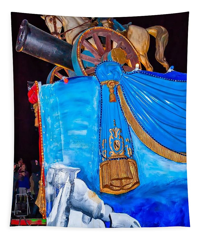 Nola Tapestry featuring the photograph Napoleon Rides by Steve Harrington