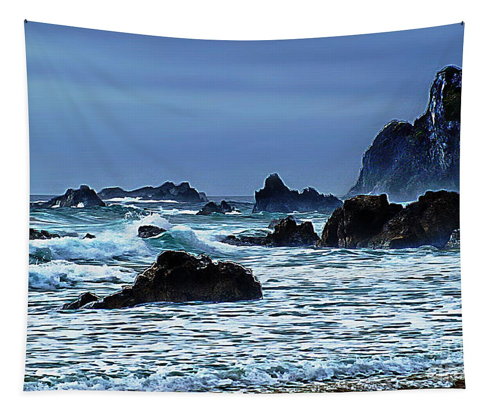 Narooma Tapestry featuring the photograph Narooma by Ben Yassa