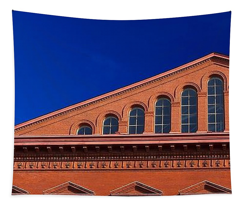 National Building Museum Tapestry featuring the photograph National Building Museum #4 by Stuart Litoff
