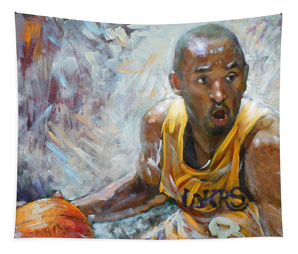 e486c47c5de93 Lakers Wall Tapestries | Fine Art America