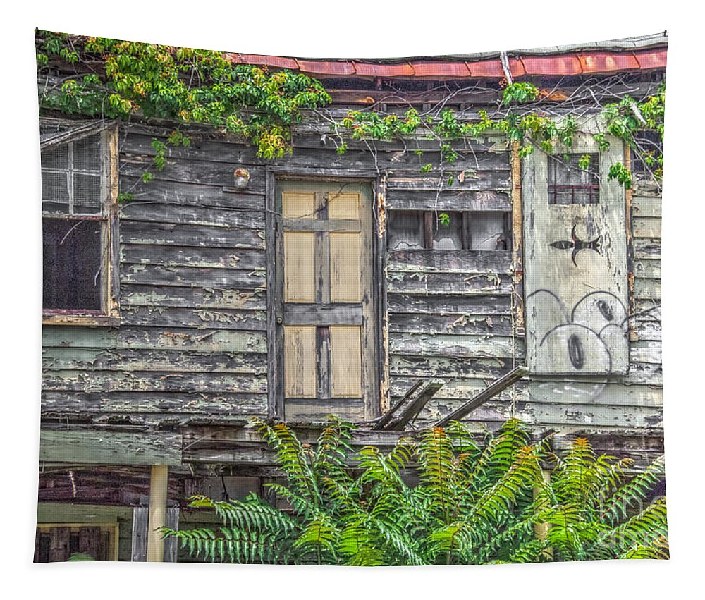 Home Tapestry featuring the photograph Needs Some Tlc by Dale Powell