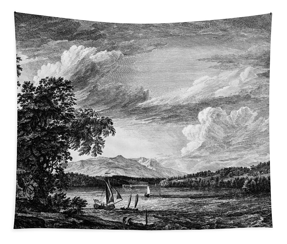 1761 Tapestry featuring the painting New York Poughkeepsie by Granger