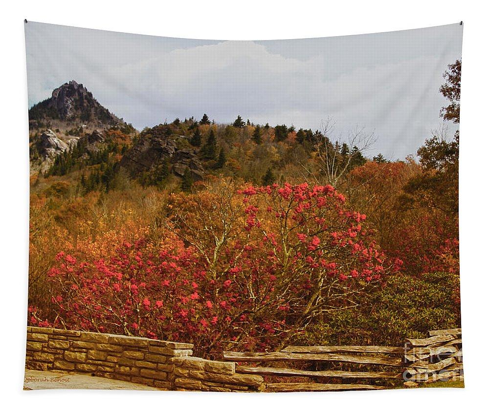 North Carolina Tapestry featuring the photograph North Carolina Beauty by Deborah Benoit