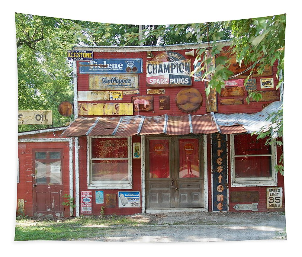 Novelty Tapestry featuring the photograph Nostalgic by Annette Persinger
