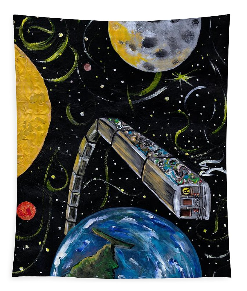 Beautiful Tapestry featuring the photograph Ny State Of Mind by Artist RiA