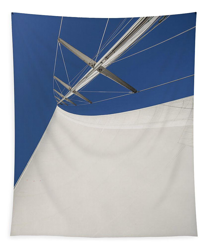 Sails Tapestry featuring the photograph Obsession Sails 4 by Scott Campbell