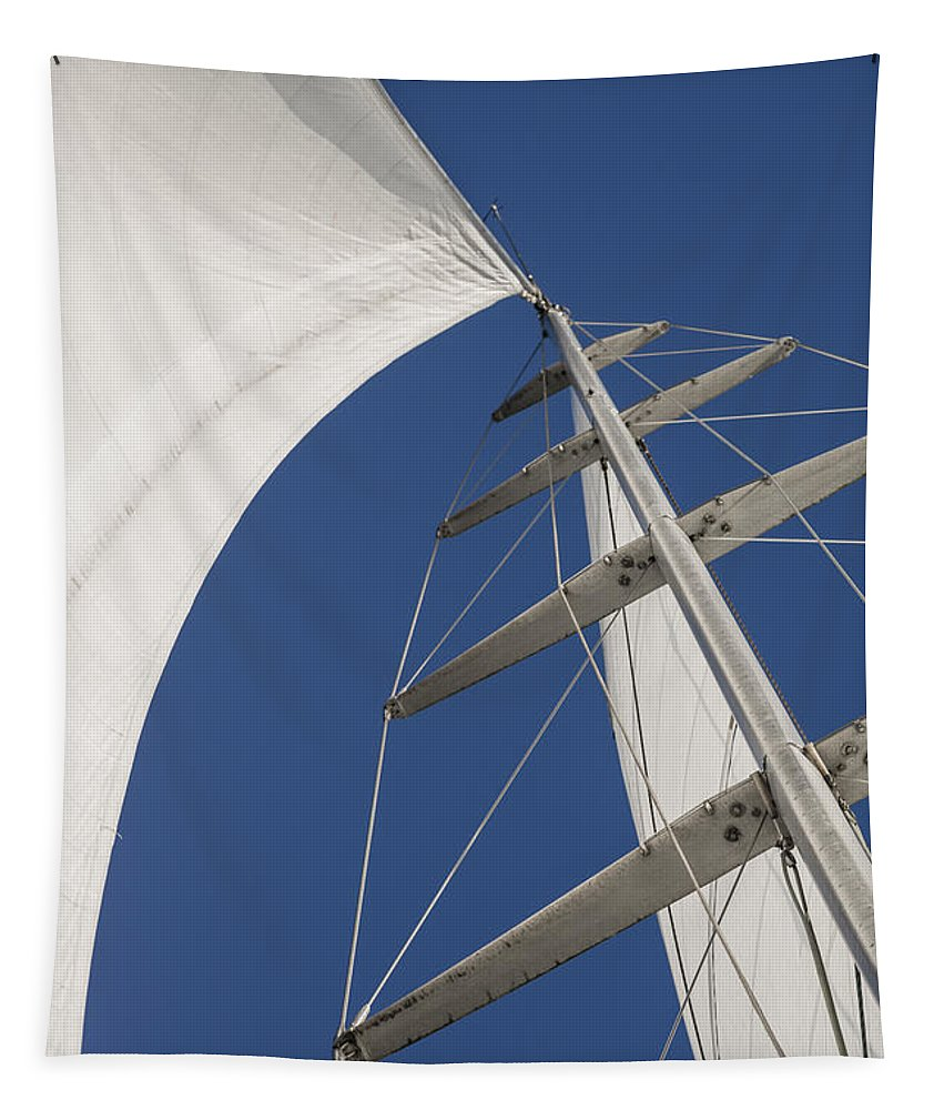 Sails Tapestry featuring the photograph Obsession Sails 5 by Scott Campbell