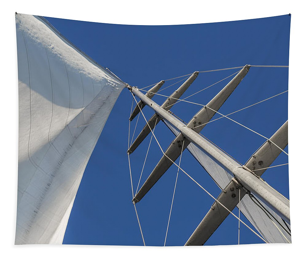 Sails Tapestry featuring the photograph Obsession Sails 6 by Scott Campbell