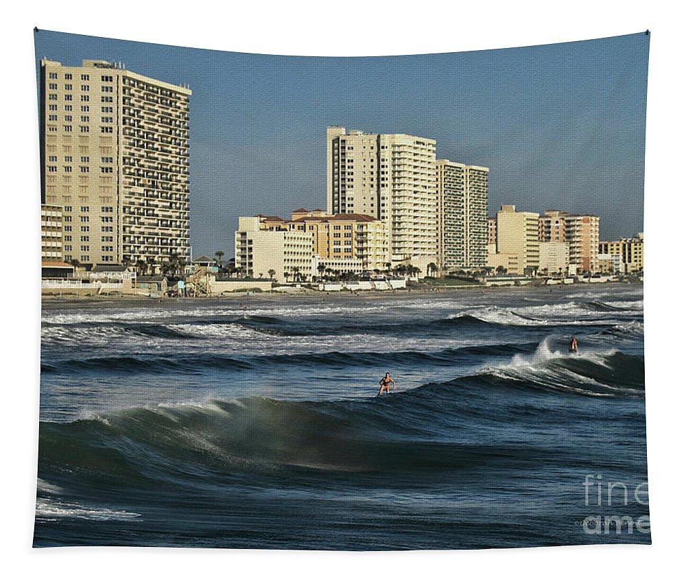 Ocean Tapestry featuring the photograph Oceanside by Deborah Benoit
