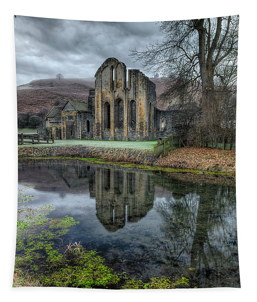 13th Century Tapestry featuring the photograph Old Abbey by Adrian Evans