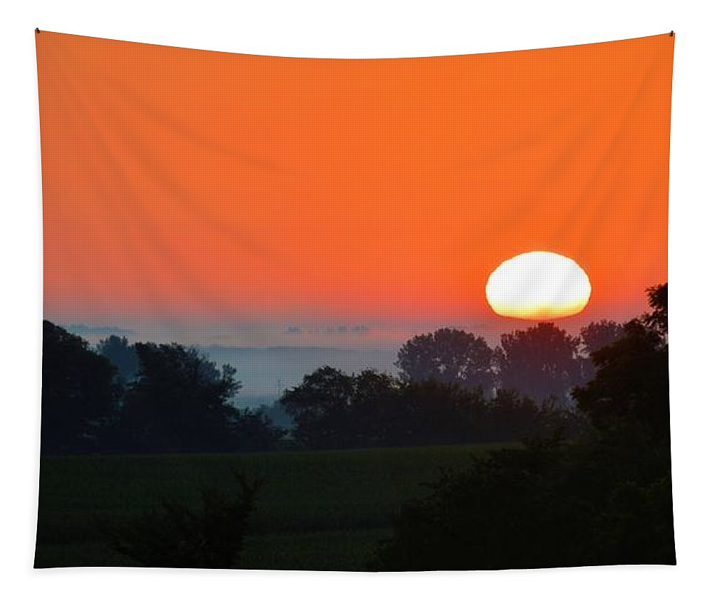 Plains Tapestry featuring the photograph On The Plains by Bonfire Photography