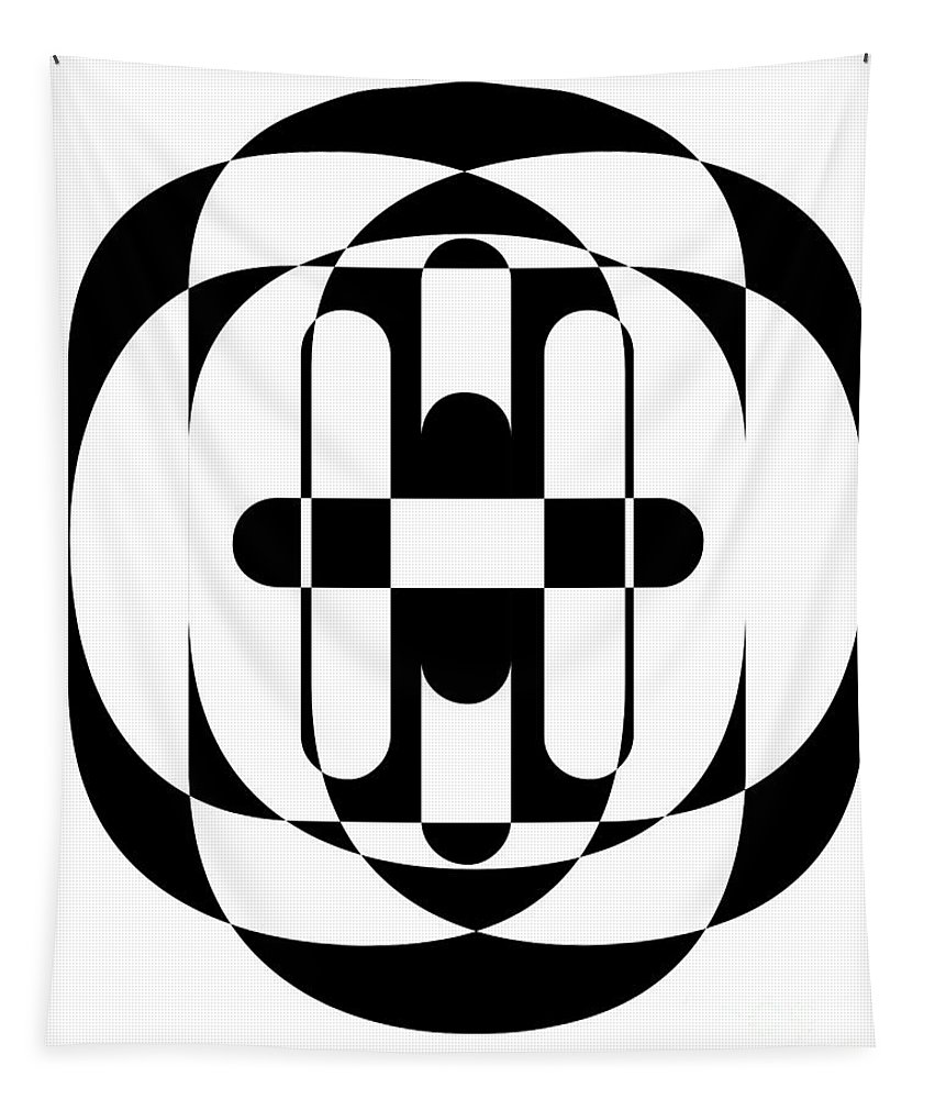 Design Tapestry featuring the photograph Op Art 5 by Edward Fielding