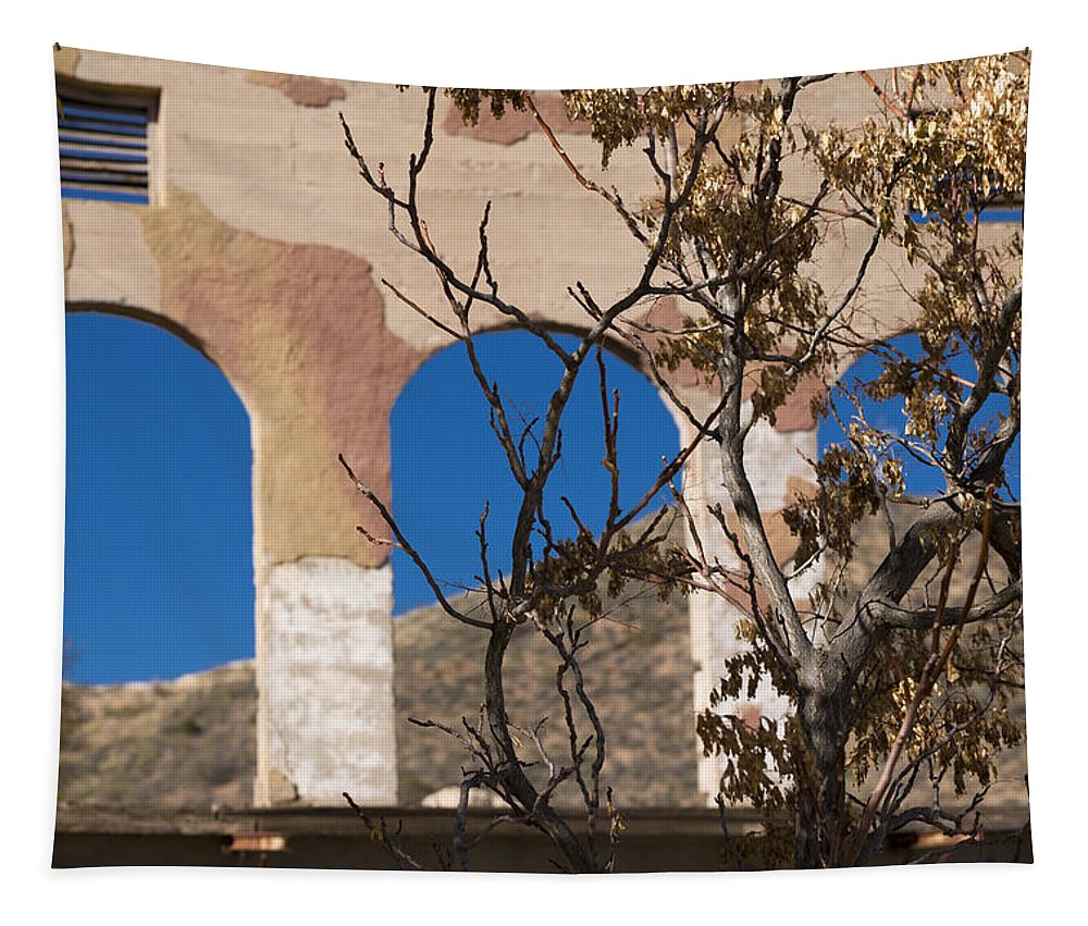 Abandoned Tapestry featuring the photograph Open Windows Jerome by Scott Campbell