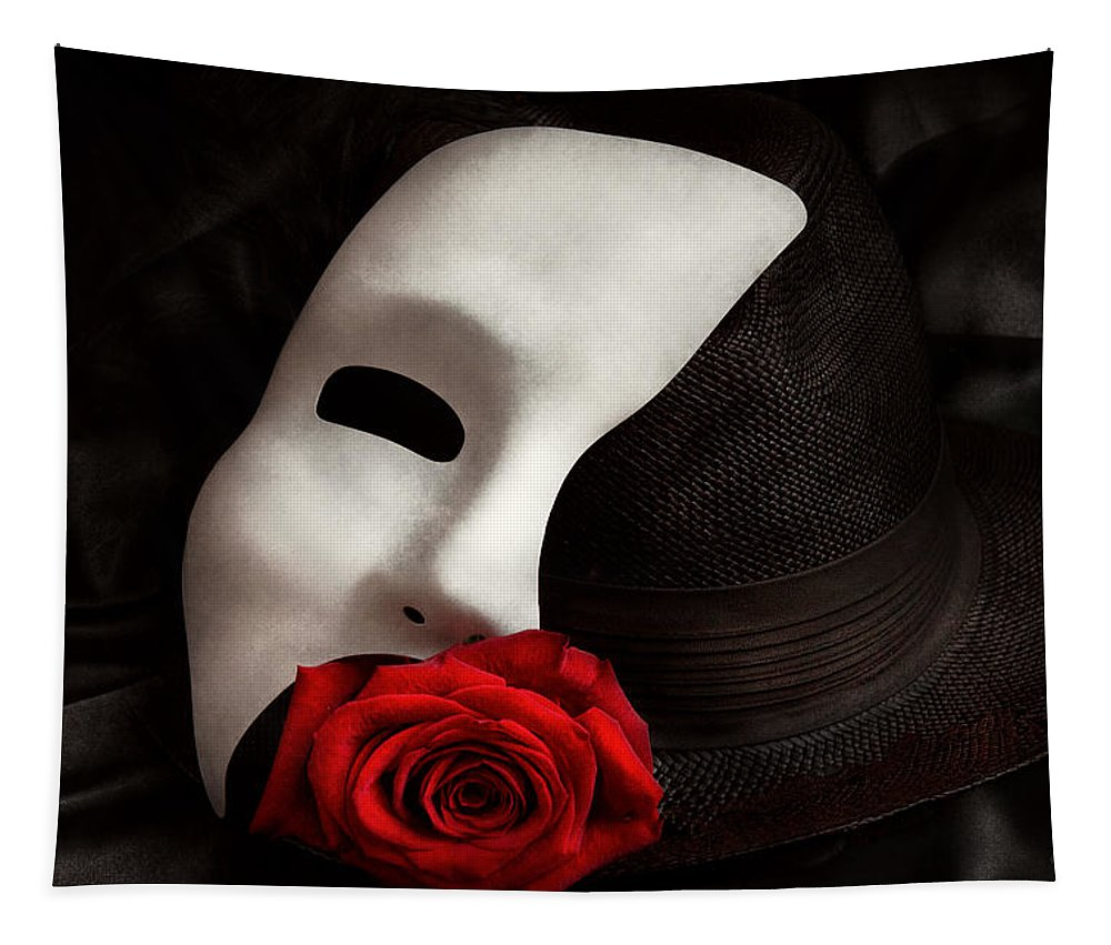 Opera Tapestry featuring the photograph Opera - Mystery And The Opera by Mike Savad