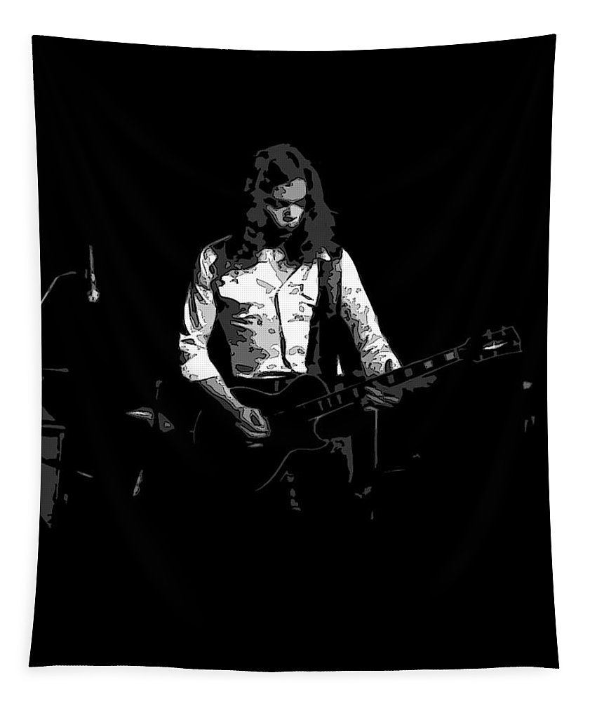 Billy Jones Tapestry featuring the photograph Outlaw Billy Jones 1 by Ben Upham