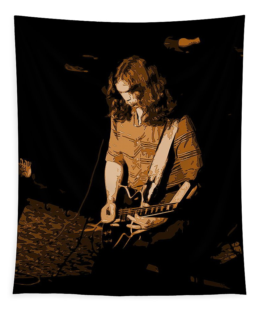 Outlaws Tapestry featuring the photograph Outlaws #22 Colored by Ben Upham