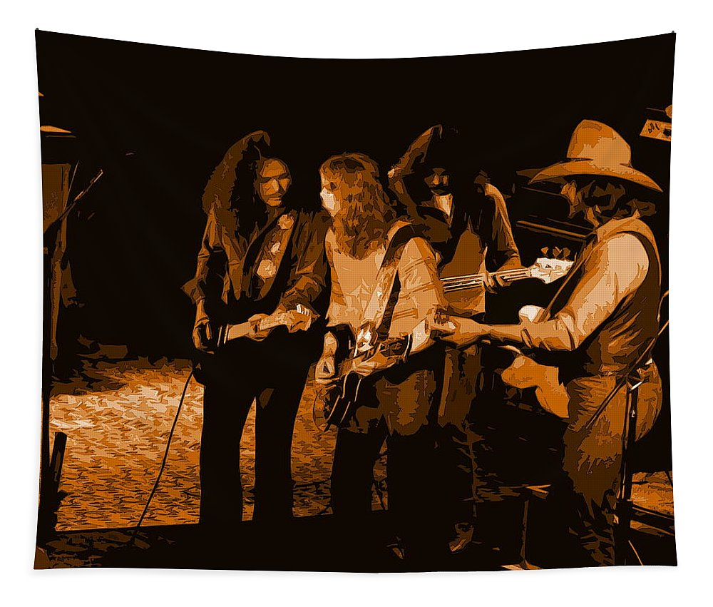 Outlaws Tapestry featuring the photograph Outlaws #26 Crop 2 Art In Amber by Ben Upham