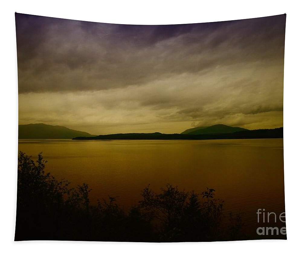Lakes Tapestry featuring the photograph Pack Lake by Jeff Swan
