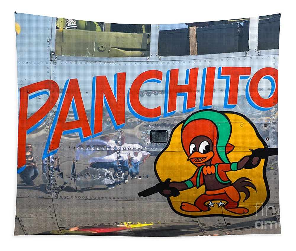 Panchiti Tapestry featuring the photograph Panchito by Dale Powell