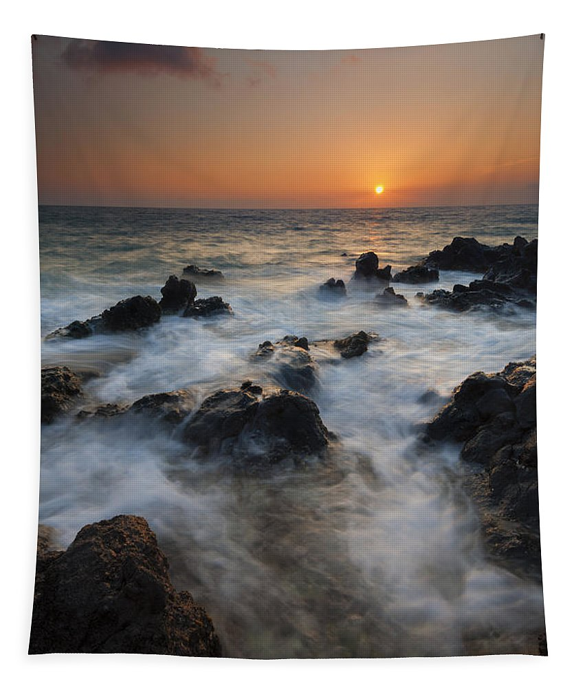 Maui Tapestry featuring the photograph Paradise Flow by Mike Dawson