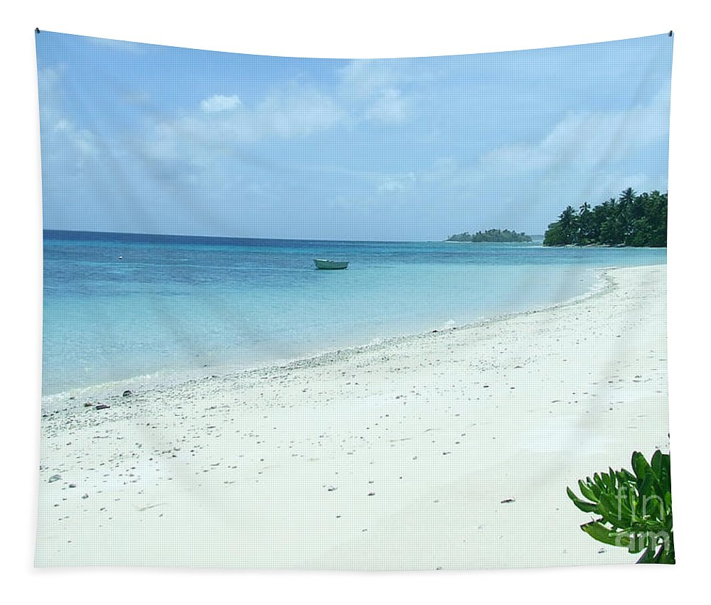 Sea Tapestry featuring the photograph Paradise Is Here by Andrea Anderegg