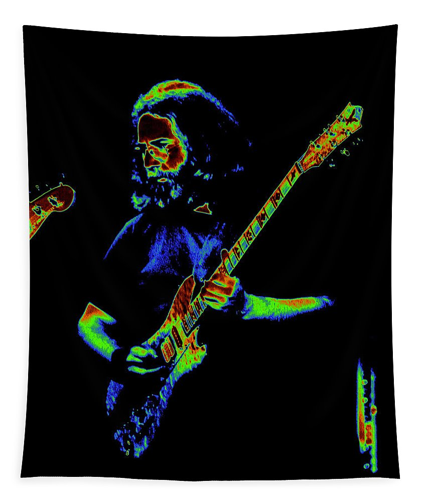 Jerry Garcia Tapestry featuring the photograph Passing The Test by Ben Upham