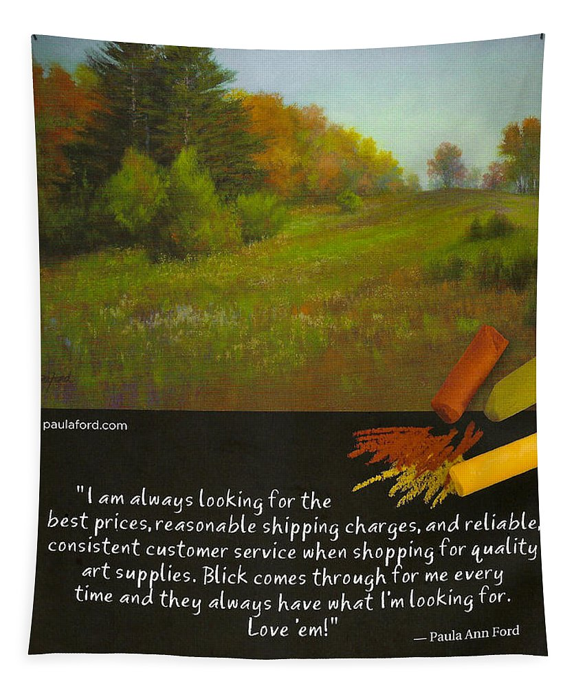 Tapestry featuring the photograph Pastel Journal by David Patterson