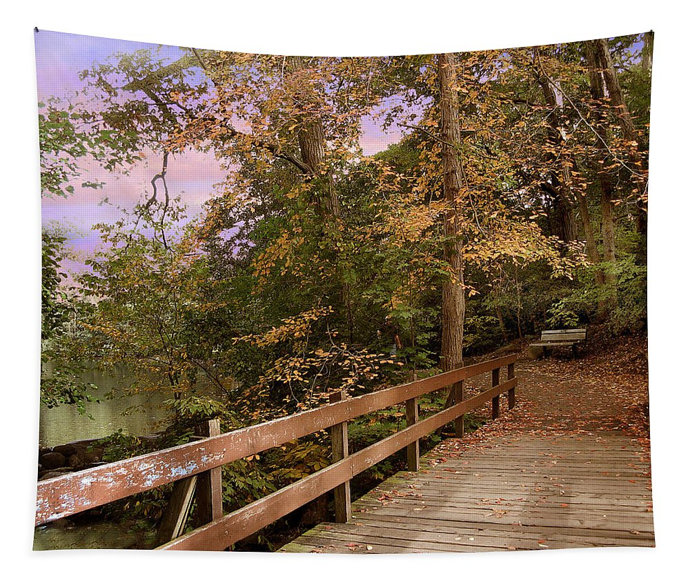 Bridge Tapestry featuring the photograph Peaceful Repose by Jessica Jenney