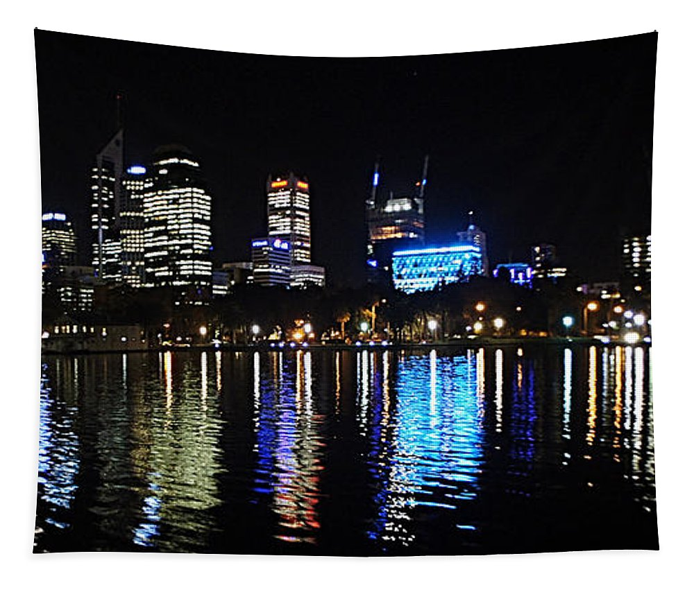 Perth Tapestry featuring the photograph Perth 9 by Ben Yassa