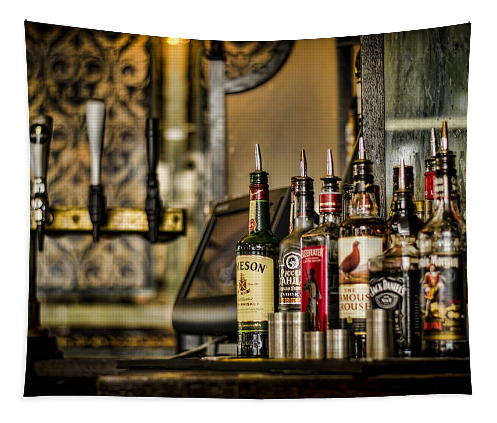 Alcohol Tapestry featuring the photograph Pick Your Poison by Heather Applegate