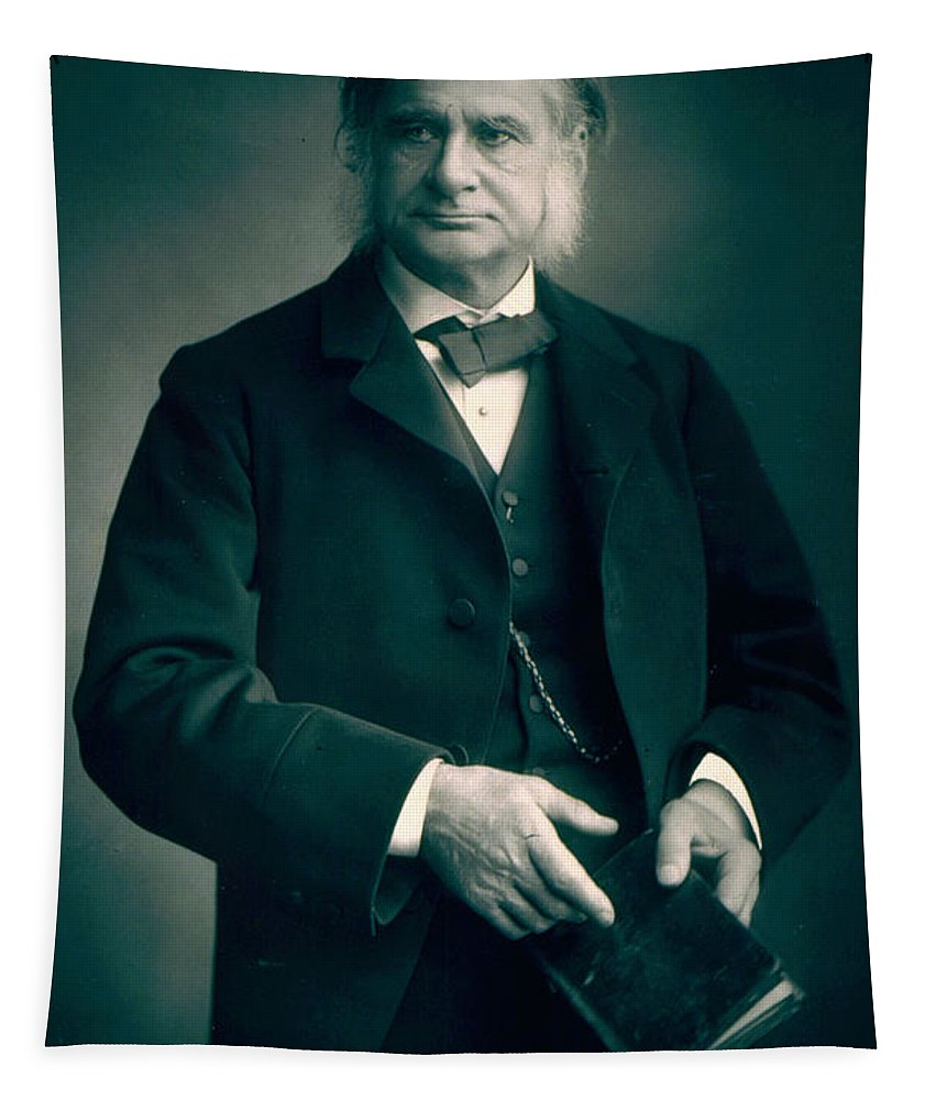 Stanislaus Walery Tapestry featuring the painting Professor Thomas H Huxley by Stanislaus Walery