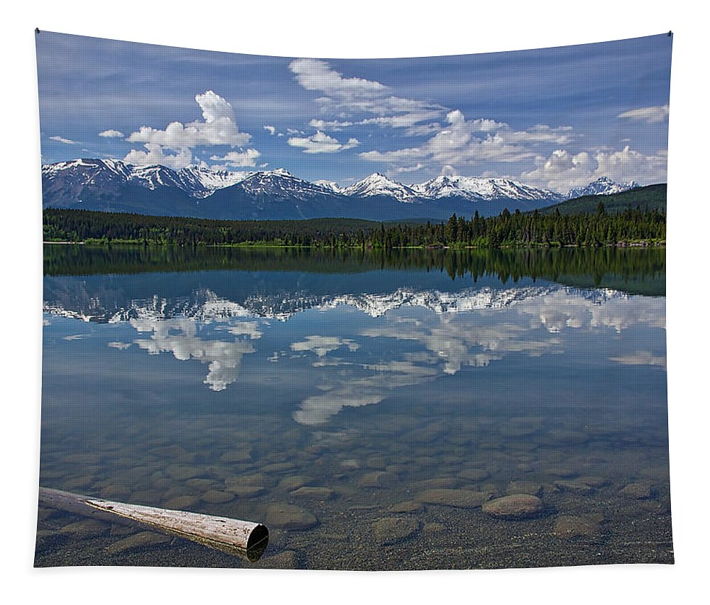 Pyramid Lake Tapestry featuring the photograph Pyramid Lake by Stuart Litoff
