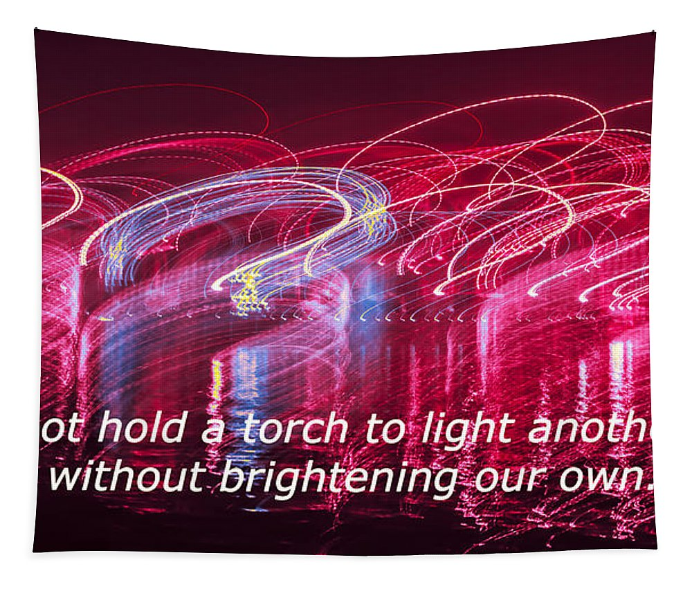 Competition Tapestry featuring the photograph Quote By Ben Sweetland by Alex Hiemstra