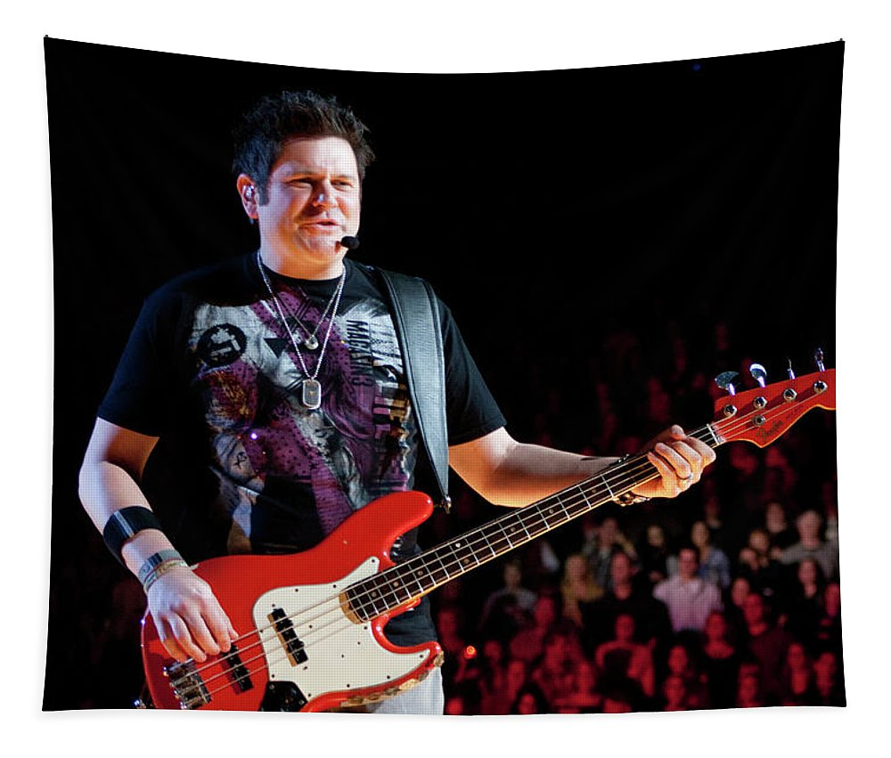 Rascal Flatts Tapestry featuring the photograph Rascal Flatts 5124 by Timothy Bischoff