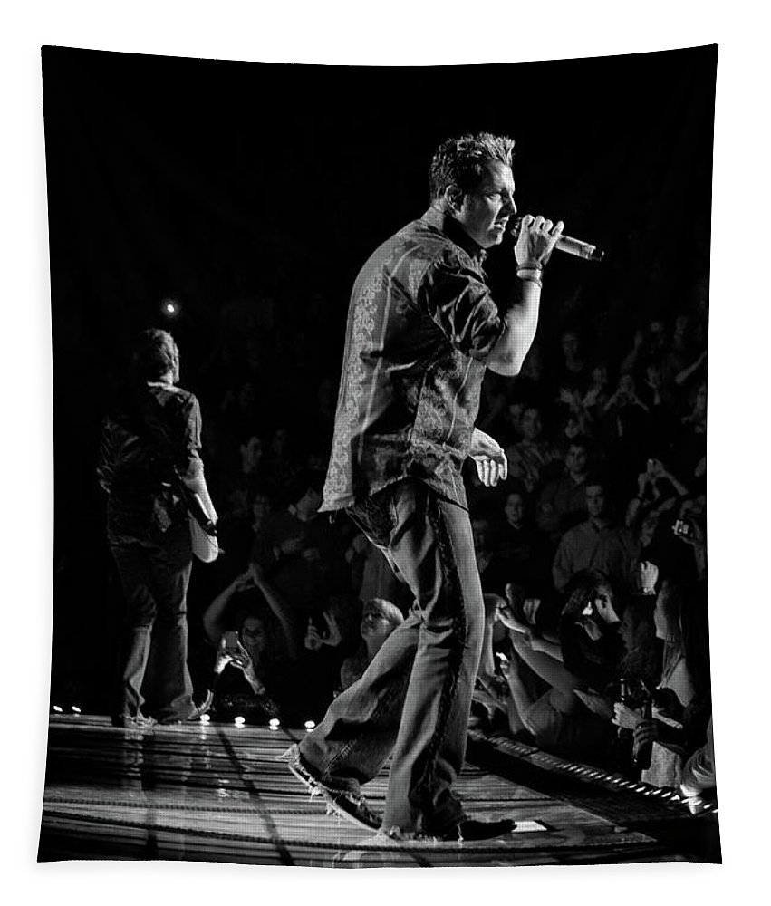 Rascal Flatts Tapestry featuring the photograph Rascal Flatts 5140 by Timothy Bischoff
