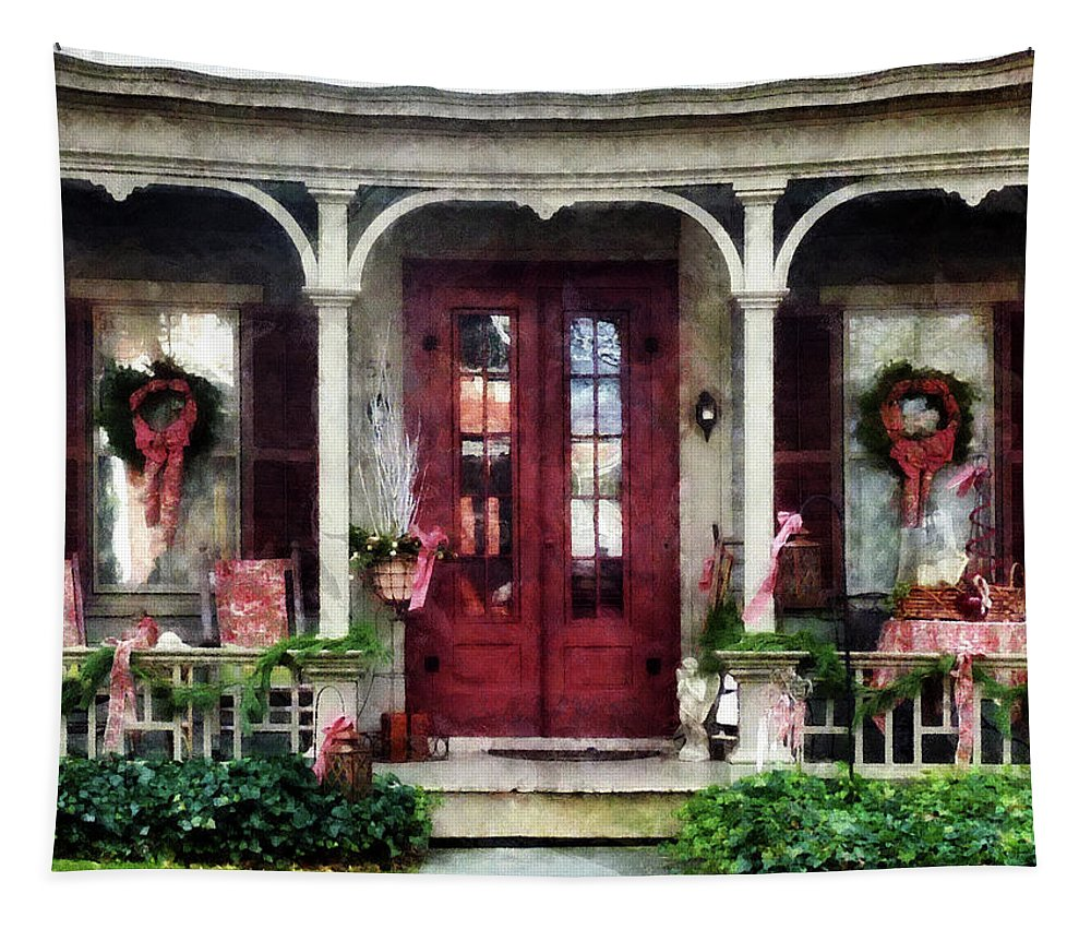 Winter Tapestry featuring the photograph Ready For Christmas by Susan Savad