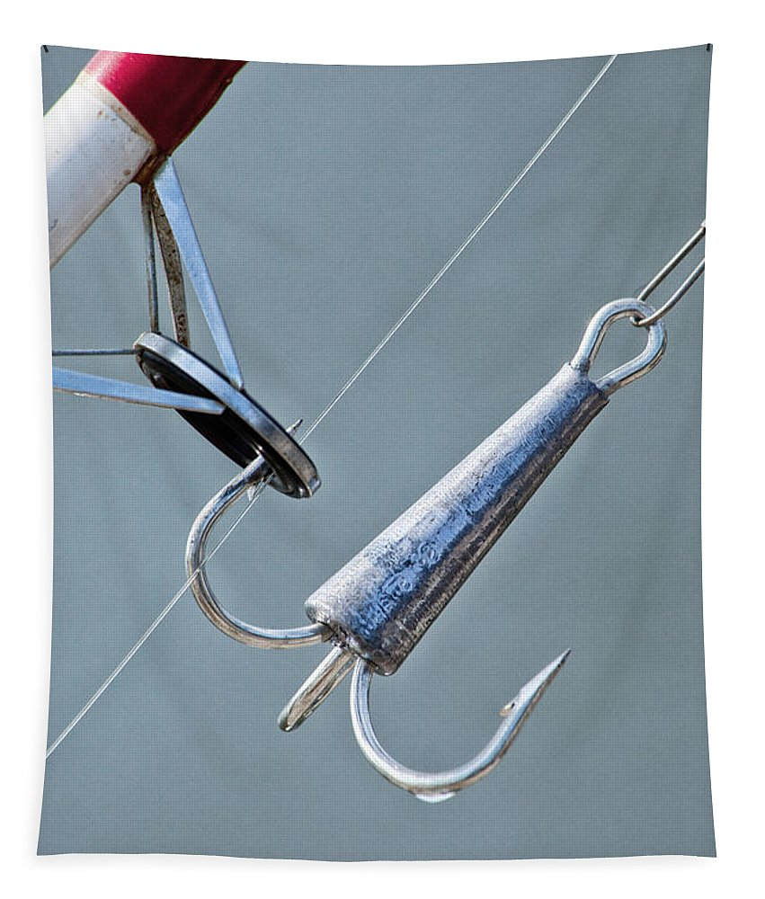 Fishing Tapestry featuring the photograph Ready To Fish by Karol Livote