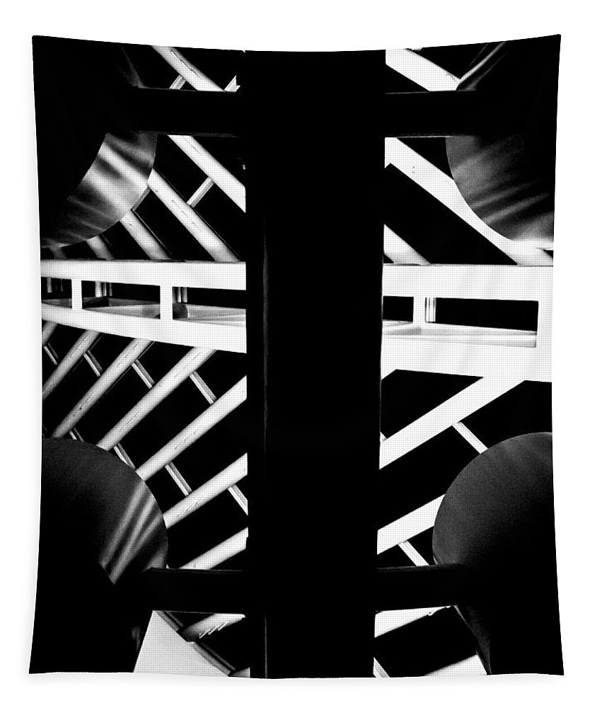 Abstract Tapestry featuring the photograph Repetition by Sean O'Cairde