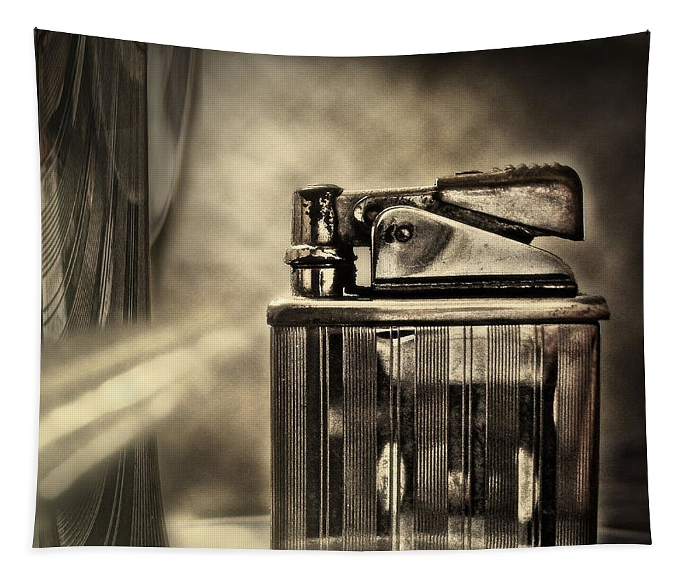 Lighter Tapestry featuring the photograph Retro Deco by John Anderson