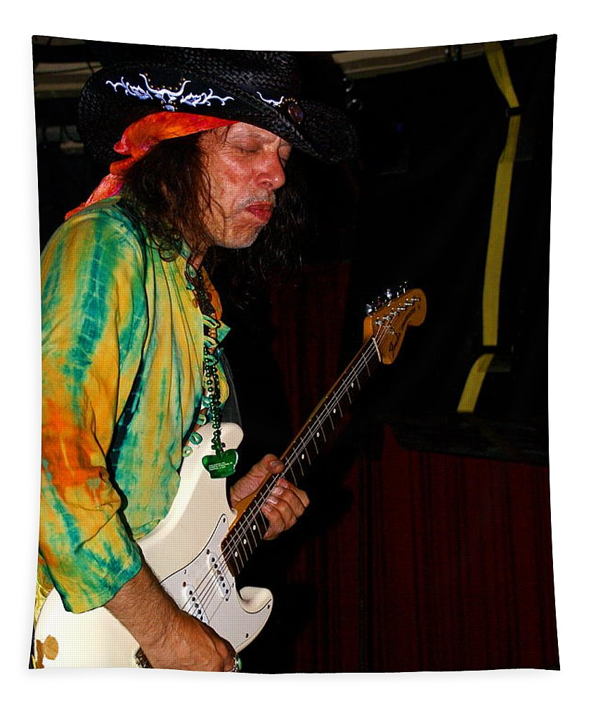 Randy Hansen Tapestry featuring the photograph Rh #8 by Ben Upham