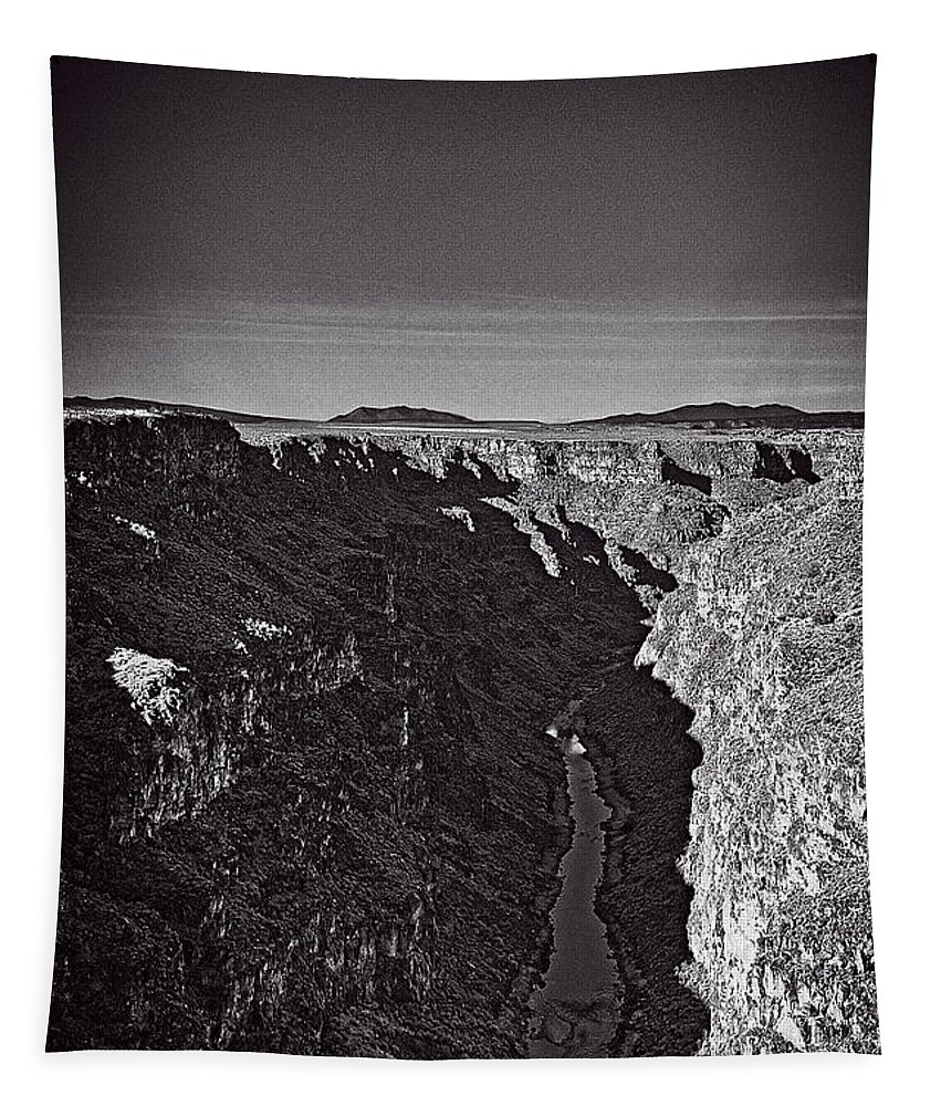 Rio Tapestry featuring the photograph Rio Grande by Charles Muhle