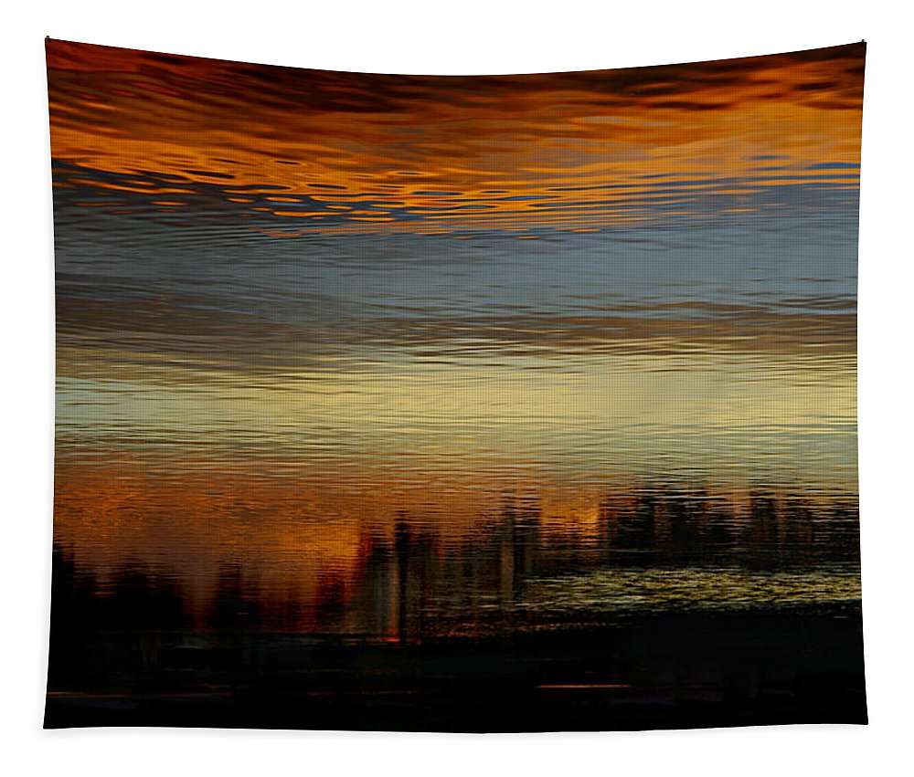 Sea Tapestry featuring the photograph River Of Sky by Laura Fasulo