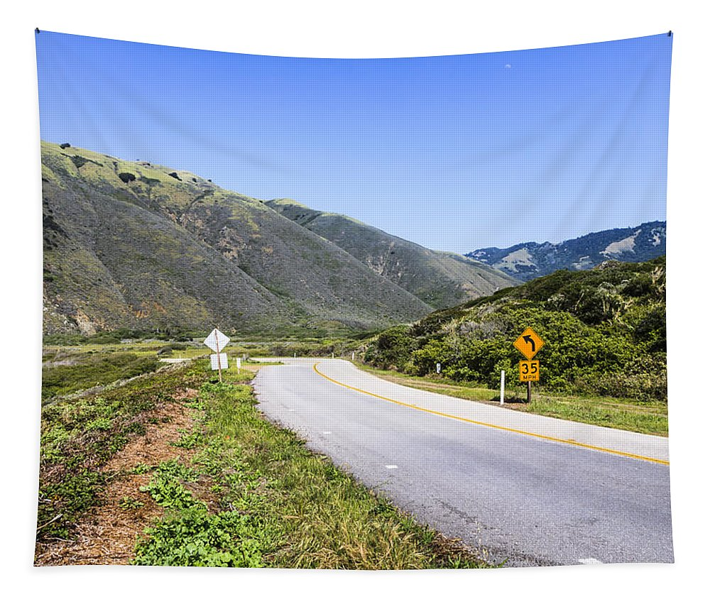 California Tapestry featuring the photograph Road To Nowhere by Sean O'Cairde