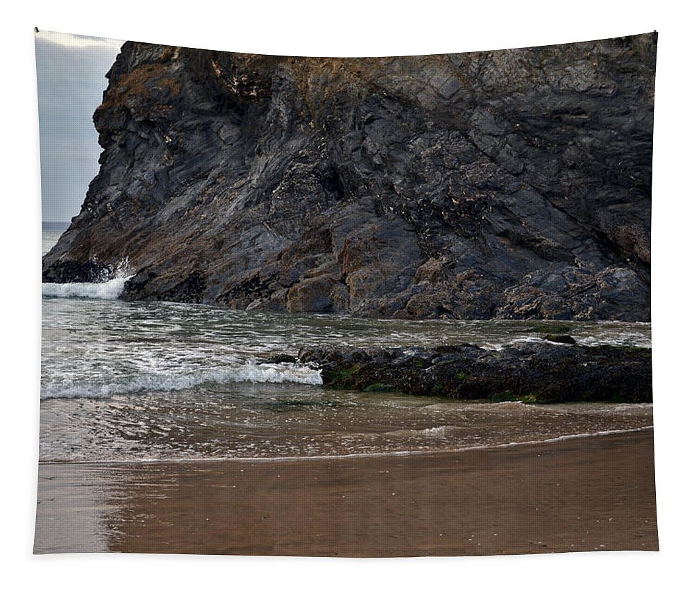 Rocks Tapestry featuring the photograph Rocky Shelter by Pennie McCracken