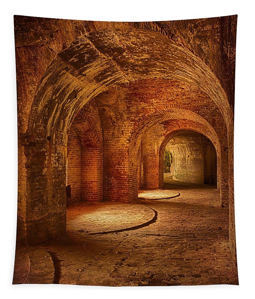 Ound And Round Tapestry featuring the photograph Round And Round by Priscilla Burgers