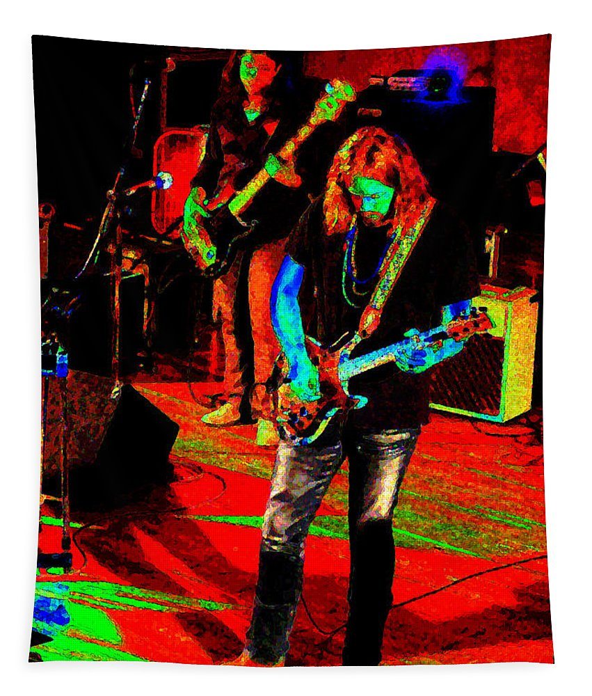 Rich Robinson Tapestry featuring the photograph Rrb #17 Enhanced In Cosmicolors by Ben Upham