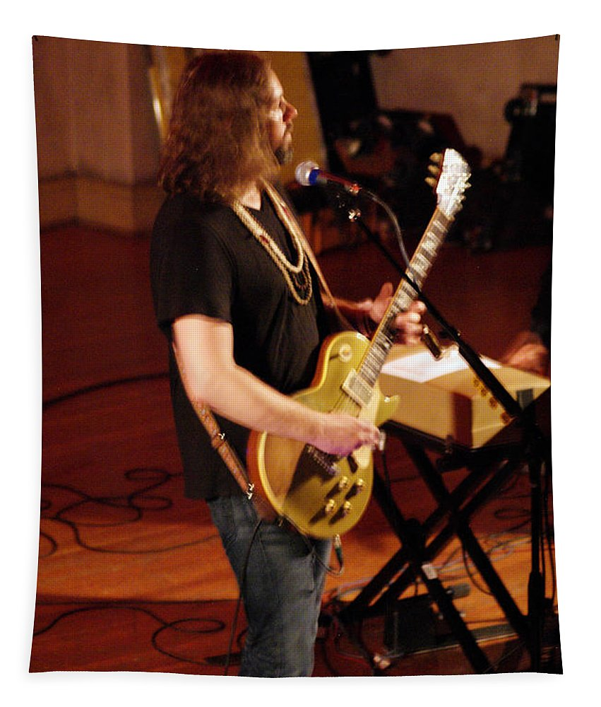 Rich Robinson Tapestry featuring the photograph Rrb #22 by Ben Upham