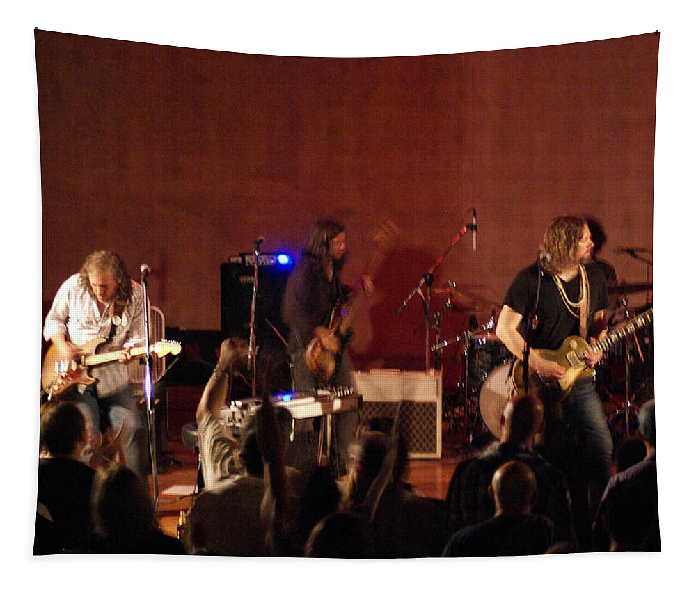 Rich Robinson Tapestry featuring the photograph Rrb #25 by Ben Upham