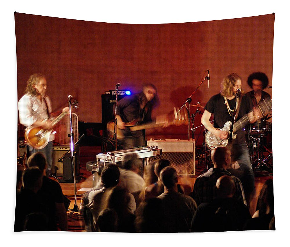 Rich Robinson Tapestry featuring the photograph Rrb #26 by Ben Upham